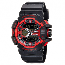 Skmei Analog-Digital Multi-Colour Dial Unisex Watch - 1117BBR