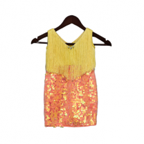Fayon Kids Yellow & Orange Dress