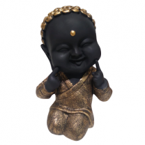 Baby Laughing Buddha, Golden-1