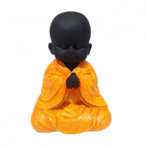 Baby Laughing Buddha Orange - 2