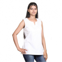 Zeme - Organic Cotton Sleeveless Kurti