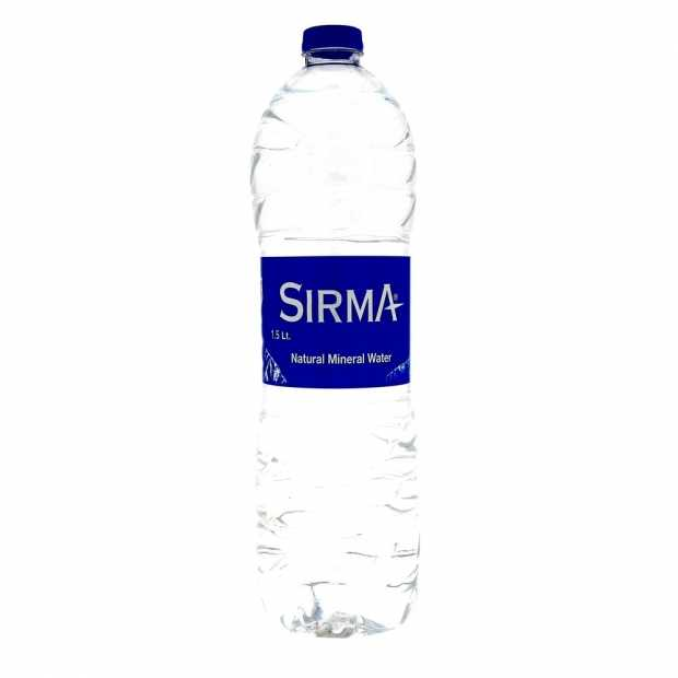 Sirma Natural Mineral Water 1.5ltr-1x6pcs