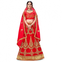 Net A - Line Self Design Lehenga Choli-467STF9162D79