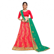 Net A - Line Self Design Lehenga Choli-467ST79CDDF43