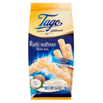 Tago Wafer Rolls With Coconut Cream 160gm