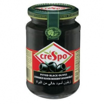 Crespo Black Pitted Olive (380g)