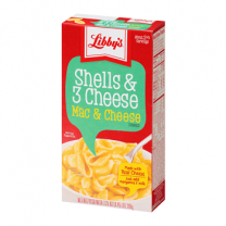 Libby's Pasta Mac and Cheese Shels and 3 Cheese 206gm