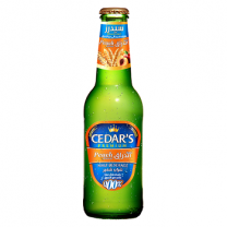 Cedar's Malt Beverage Peach Flavour 250ml