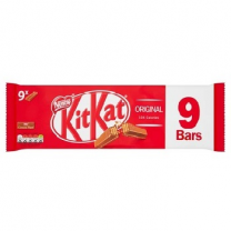 Nestle Kitkat 9x2 Finger Original 186.3g