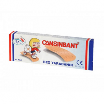 Cansinbant First Aid Strip 10Pcs