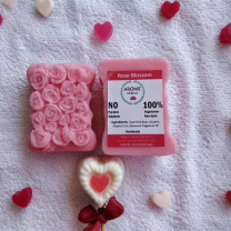 Arome Herbals Handmade Rose Blossom Soap (Pack of 2)