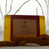 Raw Rituals Handcrafted Turmeric Face And Body Bar