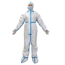 Disposable medical protective coverall