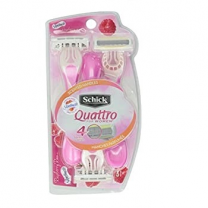 Schick Quattro Disposable 2+1 Razor WOMEN