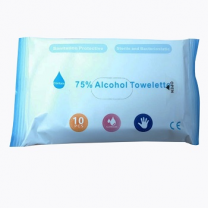ALCOHOL Pocket  (WIPES) 75 % alcahol