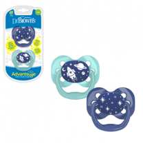 Advantage Pacifier - Stage 1, 2-Pack