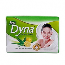 New Dyna Beauty Soap  Lime & Aloe Vera(125Gm)