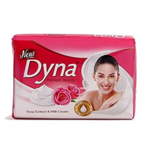 New Dyna Beauty Soap 125g Rose & Milk Cream