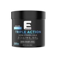 Elegance Triple Action Hair Gel Blue 250 Ml