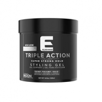 Elegance Triple Action Hair Gel White