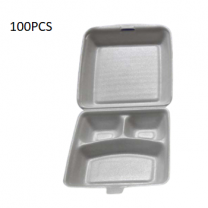 100PCS (Lb -3) Lunch Foam Box