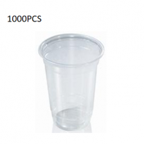 1000PCS (6.5 Oz) Plastic Clear Cup