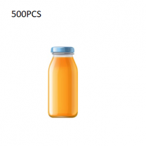 500PCS Plastic Juice Bottle (200Ml)