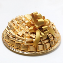 Wrapped chocolate tray -1