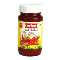 Priya Red Chilly Pickle In Oil 300Gm