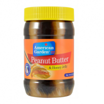 American Garden Peanut Butter & Original Honey Spread 510Gm