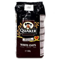 Quaker White Oats Pouch 500Gm