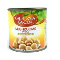 California Garden Mushrooms Whole 184Gm