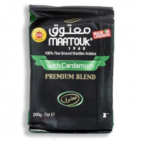Maatouk Coffee Premium With Cardamom 200g