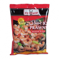 Al Kabeer Prawns Medium 400Gm