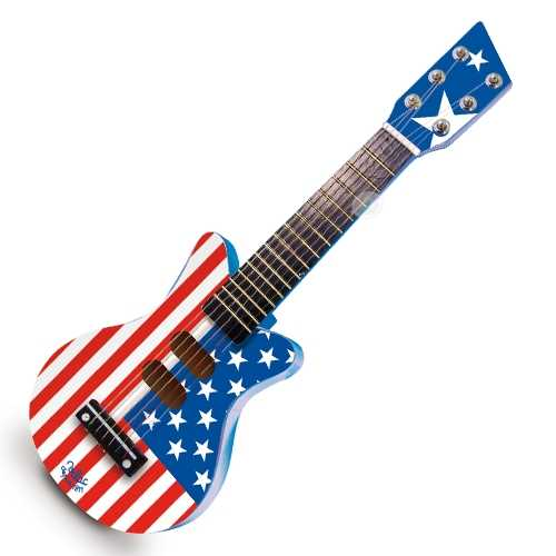 Vilac American Flag Rock N Roll Guitar