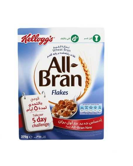 Kelloggs All Bran Flakes 375gm