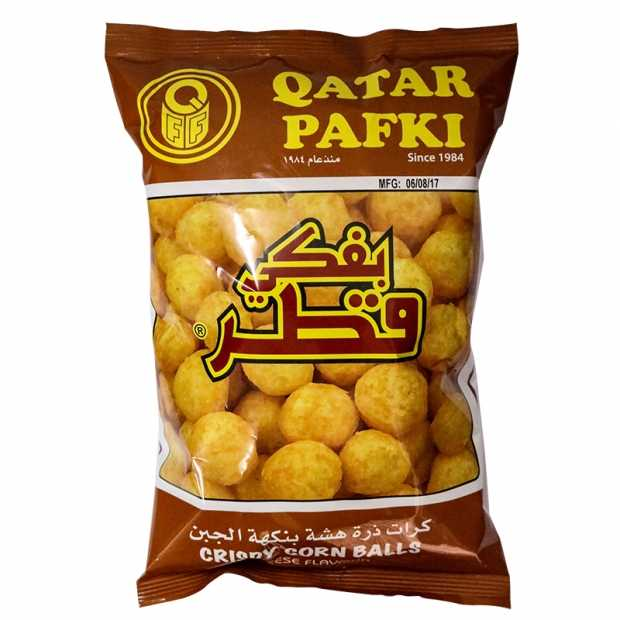 Qatar Pafki Balls Cheese Flavour 80GM X 20 Packets Per Carton