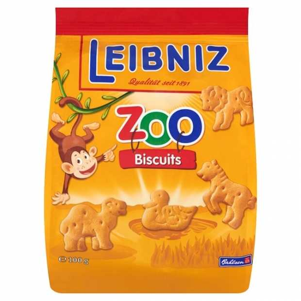 Bahlsen Leibniz Zoo Jungle 100g