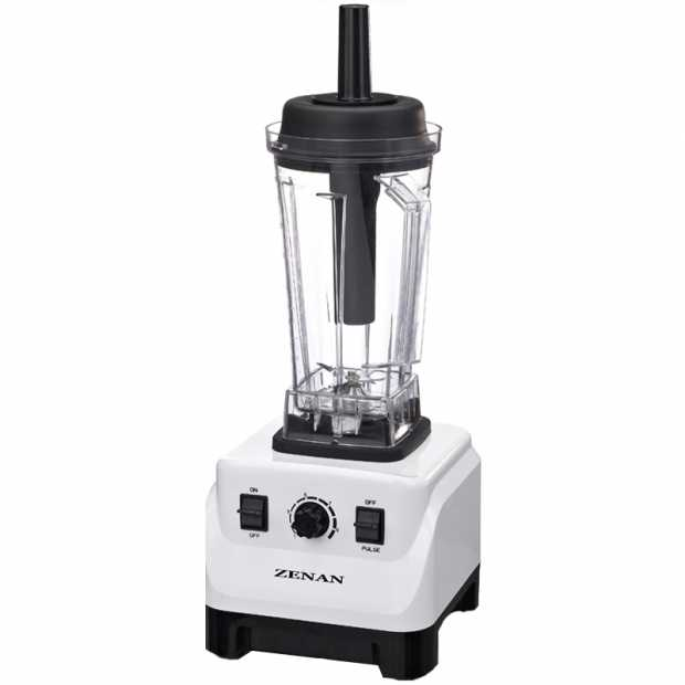 Zenan Blender ZLB8001A, White and Black