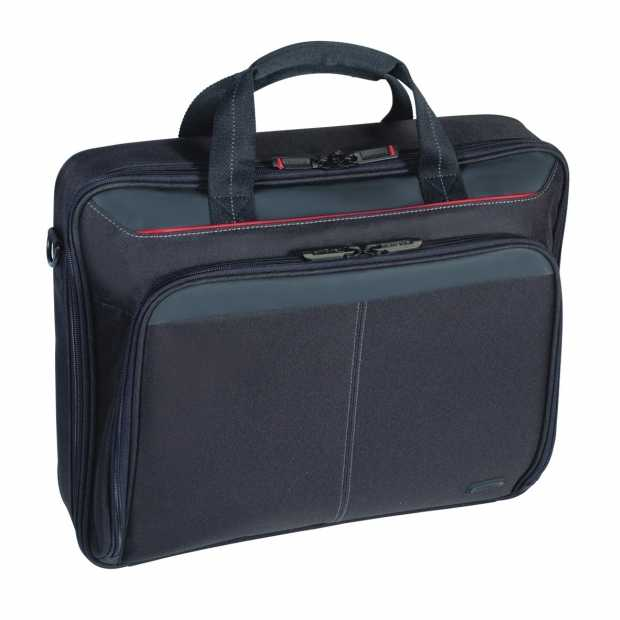 Targus Laptop Bag Classic 15-15.6 Inch Clamshell Case-Black