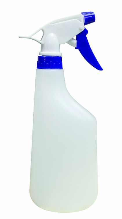 Plastic Spray Bottle Blue Color