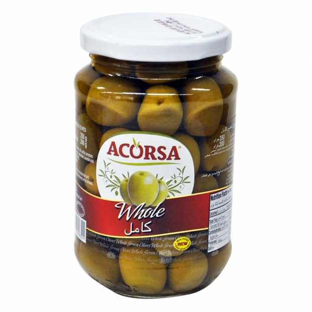 Acorsa Green Olives Plain 170GM
