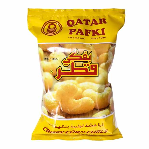Qatar Pafki Cheese Flavour 80GM X 20 Packets Per Carton